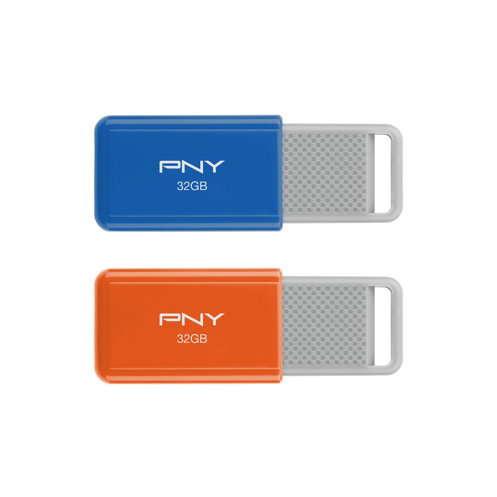 Rainbow Attaché </br>32GB USB Drives 2-pack