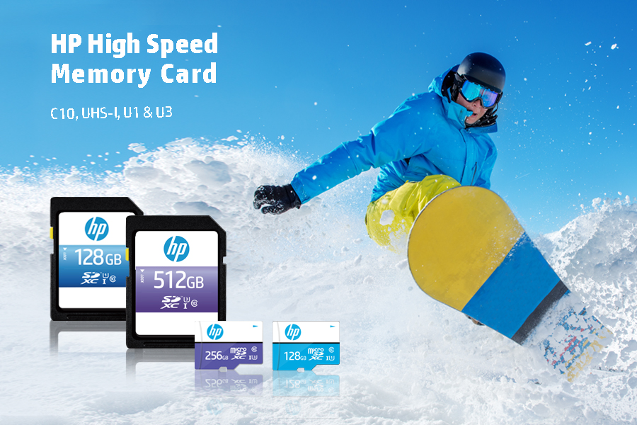 HP HIGH SPEED MEMORY CARD-2