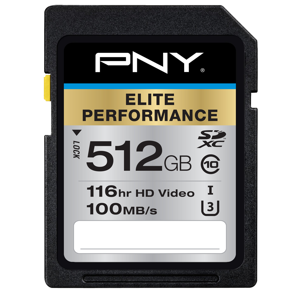 Elite performance U3 SD Card